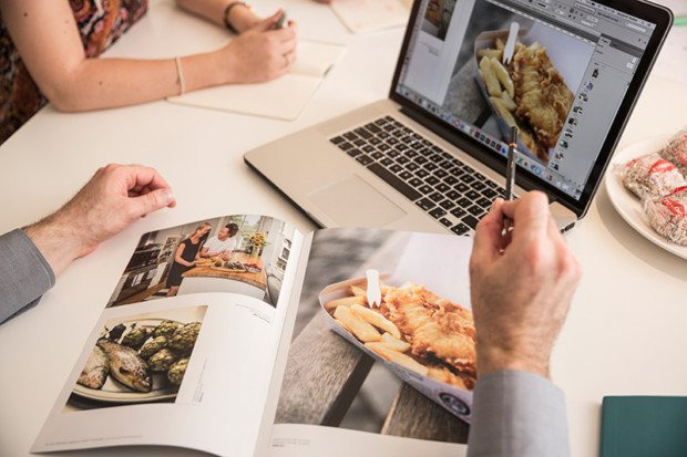designing a brochure